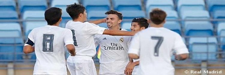 El RM Castilla golea al CD Ebro