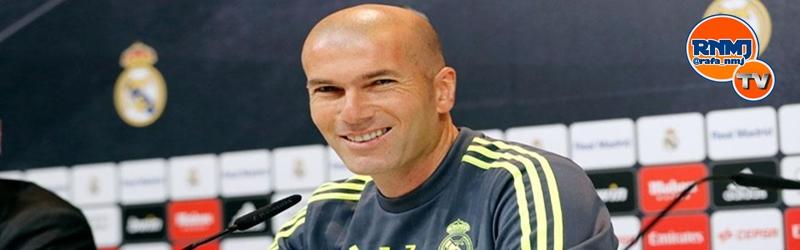 Rueda de prensa de Zidane previa al partido ante el Getafe