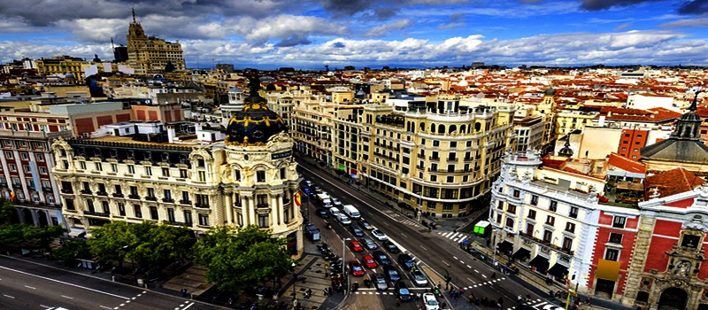 En un barrio de Madrid