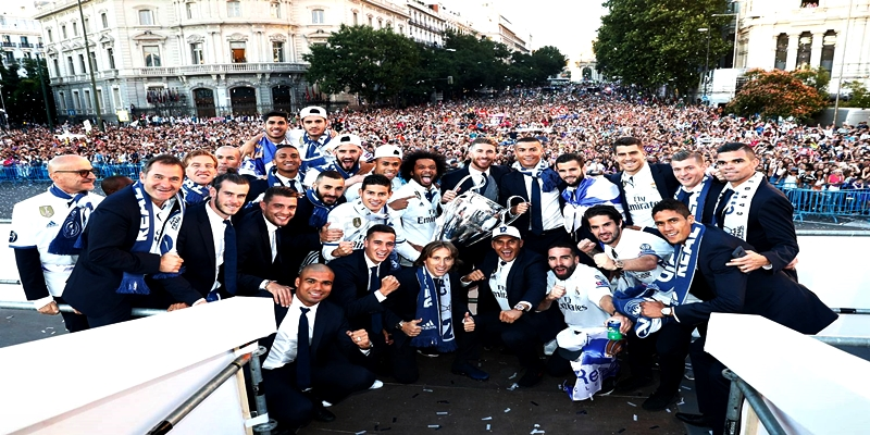 VIDEO | Celebración de la Duodécima Champions League del Real Madrid en Cibeles