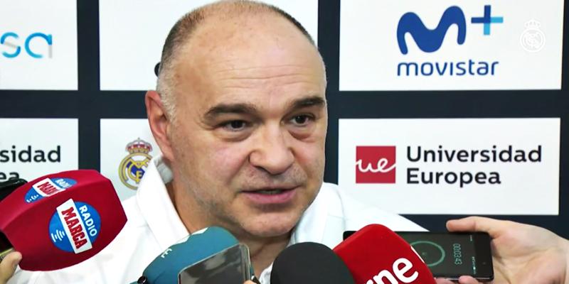 """DECLARACIONES   Pablo Laso: """"El equipo ha trabajado muy bien"""""""