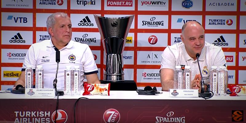 VÍDEO   Rueda de prensa previa a la final de la Euroleague