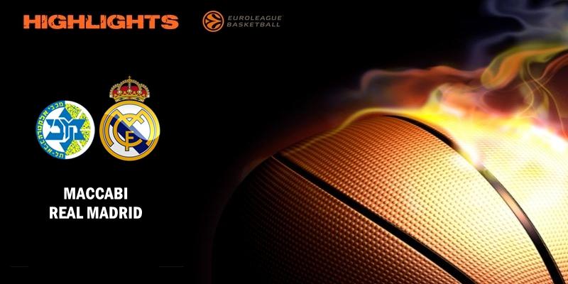 VÍDEO | Highlights | Maccabi vs Real Madrid | Euroleague | J6