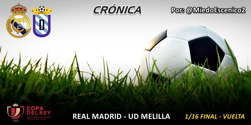 CRÓNICA | Trámites: Real Madrid 6 – 1 UD Melilla