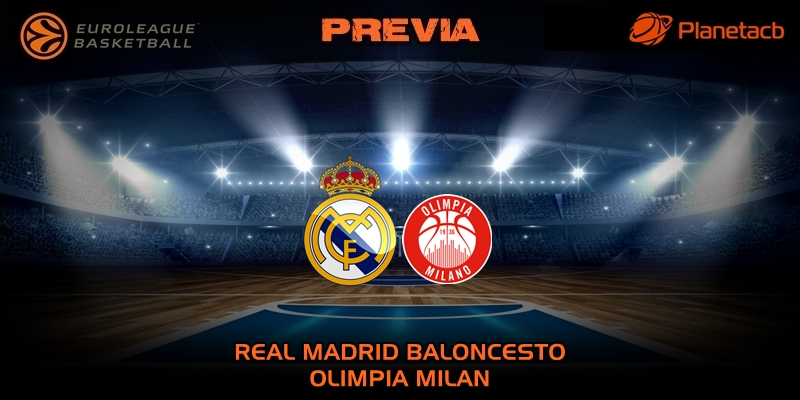 PREVIA   Real Madrid vs Olimpia Milan   Euroleague   Jornada 27