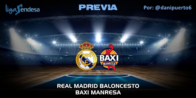 PREVIA   Real Madrid vs Baxi Manresa   Liga Endesa   Jornada 23