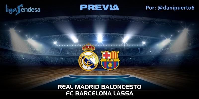 PREVIA   Real Madrid vs FC Barcelona   Liga Endesa   Jornada 24