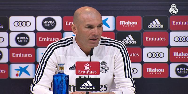 VÍDEO   Rueda de prensa de Zinedine Zidane previa al partido ante el Valencia