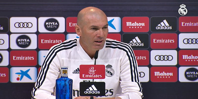VÍDEO | Rueda de prensa de Zinedine Zidane previa al partido ante el Valencia