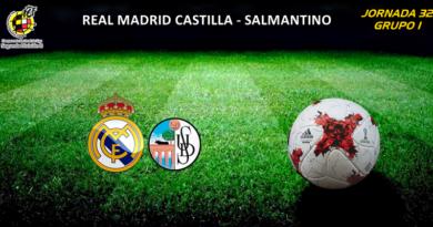 CRÓNICA   El Castilla se queda con ganas de más: Real Madrid Castilla 1 – 1 Salmantino