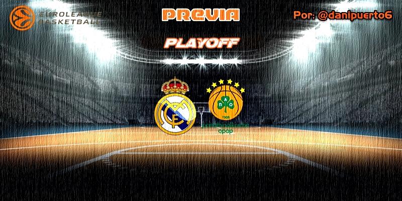 PREVIA   Real Madrid vs Panathinaikos   Euroleague   Playoff