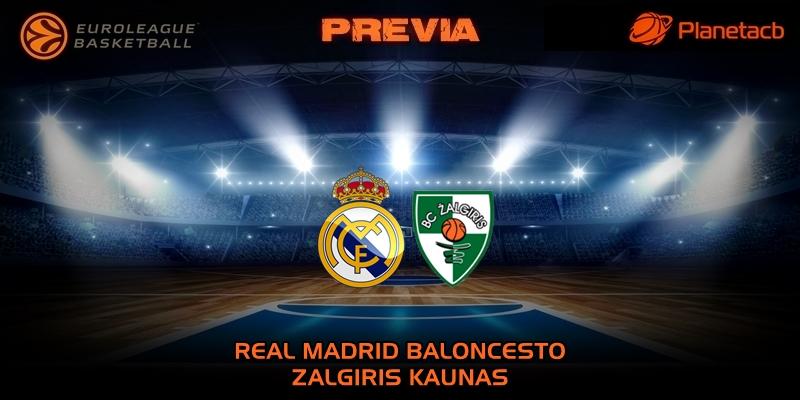 PREVIA   Real Madrid vs Zalgiris   Euroleague   Jornada 30