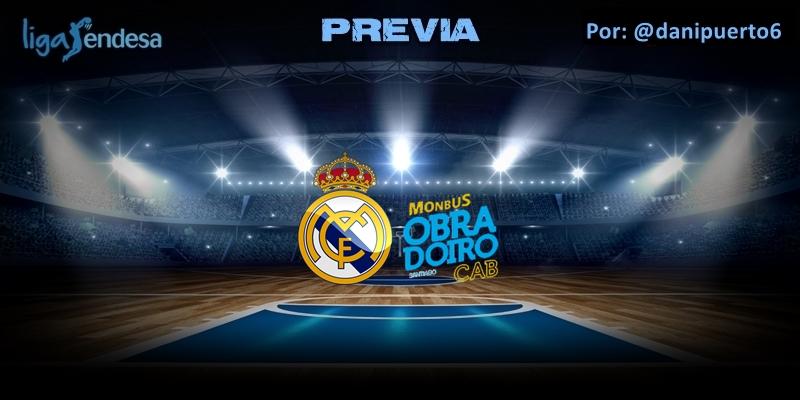 PREVIA   Real Madrid vs Monbus Obradoiro   Liga Endesa   Jornada 27