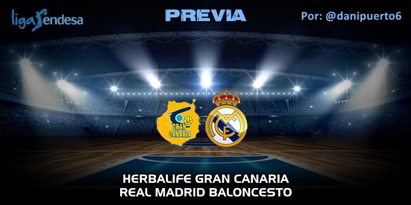 PREVIA   Herbalife Gran Canaria vs Real Madrid   Liga Endesa   Jornada 26