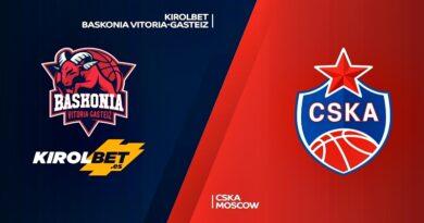 NOTICIAS   CSKA Moscú o Kirolbet Baskonia seran el rival del Real Madrid en semifinales
