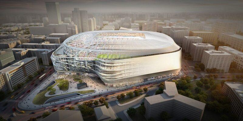 NOTICIAS | FCC sera la empresa encargada de las obras de remodelación del Santiago Bernabéu