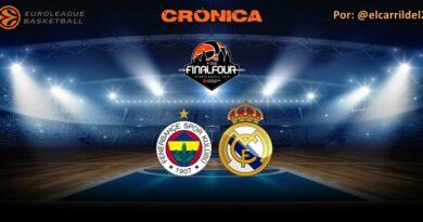 CRÓNICA | Fenerbahçe 75 – 94 Real Madrid | Final Four | Tercer y cuarto puesto