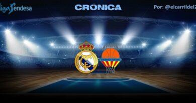 CRÓNICA | Real Madrid 83 – 77 Valencia Basket | Liga Endesa | Jornada 33