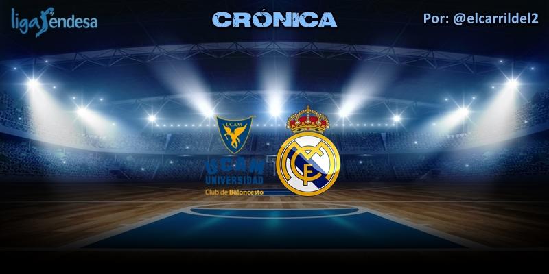 CRÓNICA | UCAM Murcia 80 – 82 Real Madrid | Liga Endesa | Jornada 28