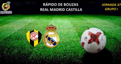 CRÓNICA | Objetivo cumplido: Rápido de Bouzas 0 – 3 Real Madrid Castilla