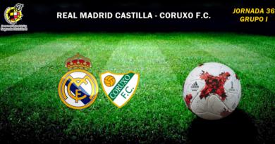 CRÓNICA | Más cerca del objetivo: Real Madrid Castilla 3 – 0 Coruxo F.C.
