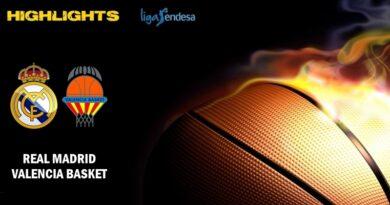 VÍDEO | Highlights | Real Madrid vs Valencia Basket | Liga Endesa | Jornada 33