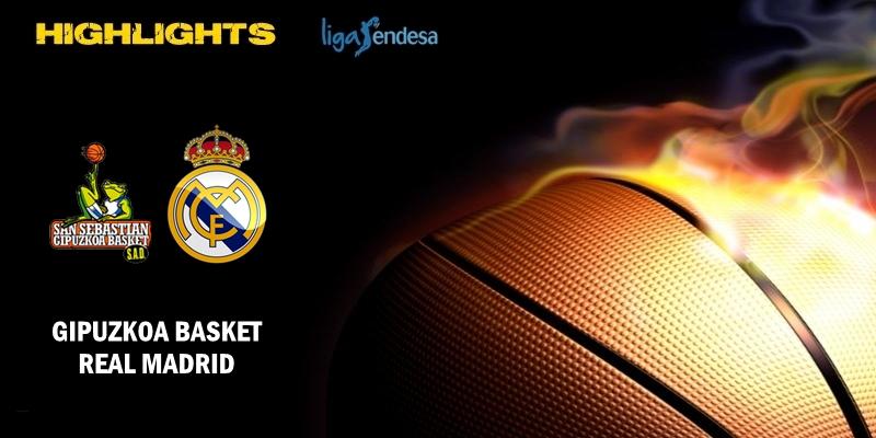 VÍDEO | Highlights | Delteco Gipuzkoa Basket vs Real Madrid | Liga Endesa | Jornada 34