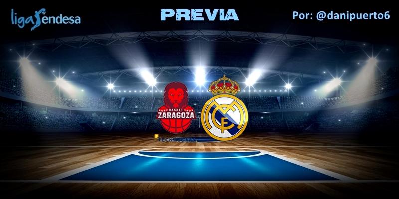 PREVIA   Tecnyconta Zaragoza vs Real Madrid   Liga Endesa   Jornada 32