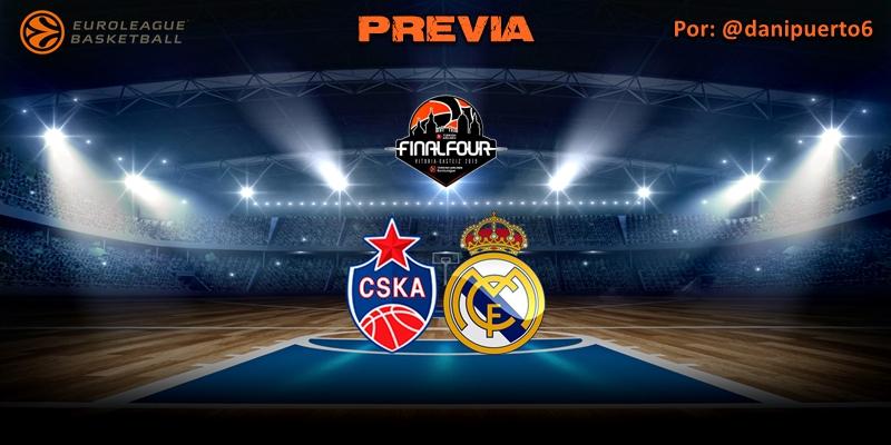 PREVIA   CSKA Moscú vs Real Madrid   Euroleague   Final Four   Semifinal