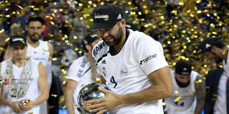 VÍDEO | Asi celebro el Real Madrid el titulo de la ACB