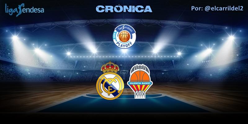 CRÓNICA   Dos grandes cuartos: Real Madrid 79 – 66 Valencia Basket