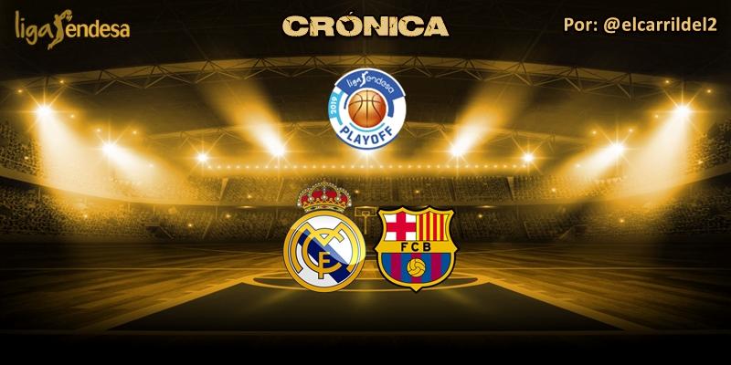 CRÓNICA   Nadie para al Madrid: Real Madrid 81 – 80 FC Barcelona