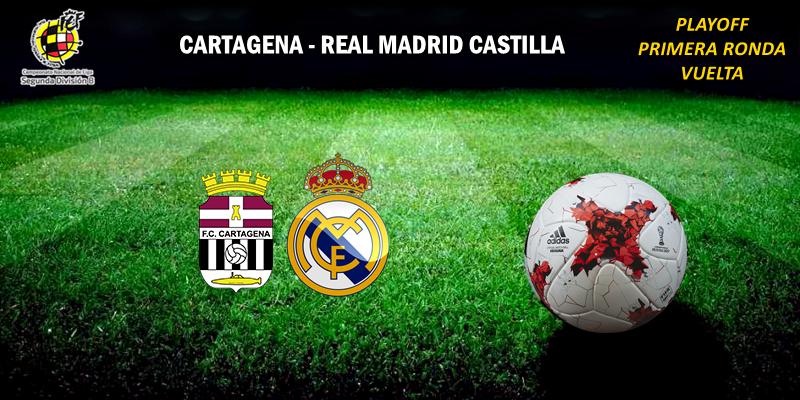 CRÓNICA   El Castilla fue arrollado por el Cartagena: Cartagena 2 – 0 Real Madrid Castilla
