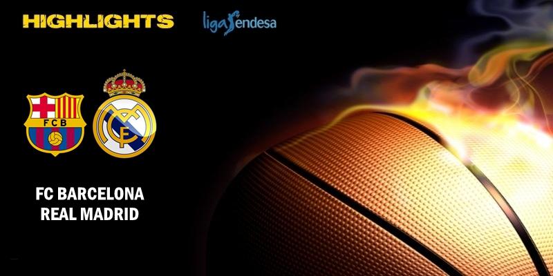 VÍDEO | Highlights | FC Barcelona vs Real Madrid | Liga Endesa | Final | Partido 4