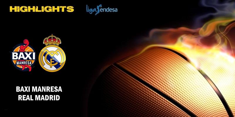 VÍDEO | Highlights | Baxi Manresa vs Real Madrid | Liga Endesa | Playoff | 1/4 Final | Partido 2