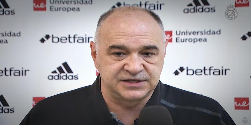 """DECLARACIONES   Pablo Laso: """"No puedes aspirar a ganar en este campo perdiendo 22 balones"""""""