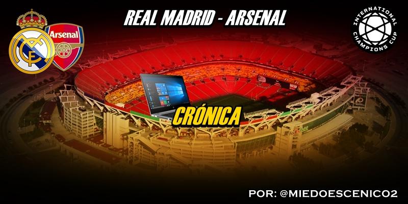 CRÓNICA | Segundo bolo. Reacciones y desgracias: Real Madrid 2 – 2 Arsenal