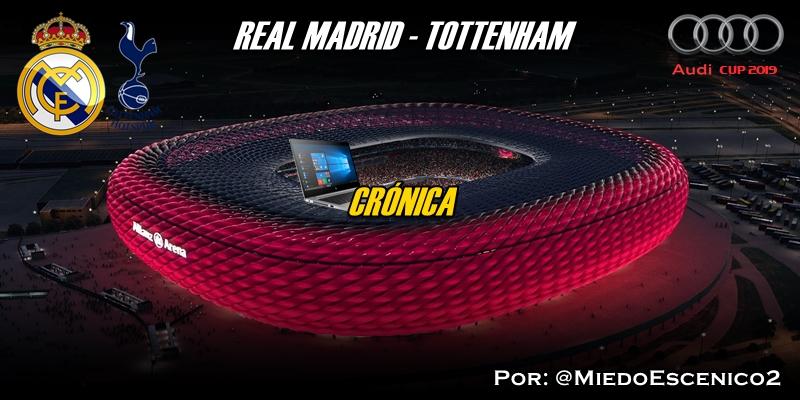 CRÓNICA | Cuarto bolo. Impotencia: Real Madrid 0 – 1 Tottenham