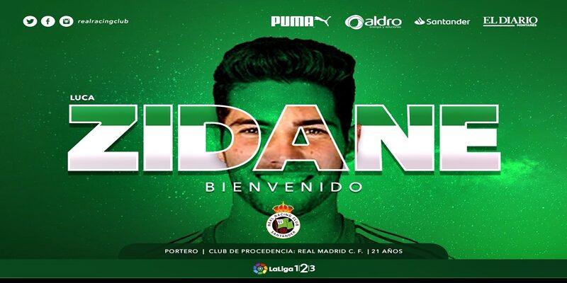 NOTICIAS | Luca Zidane se marcha cedido al Racing de Santander