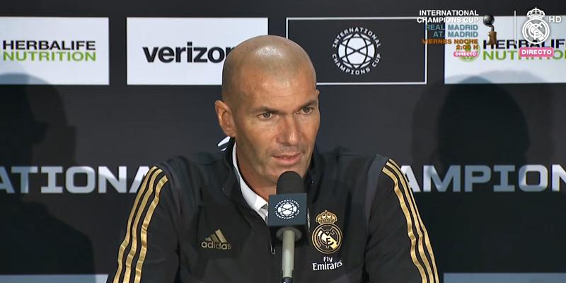 VÍDEO | Rueda de prensa de Zinedine Zidane tras el partido ante el Arsenal