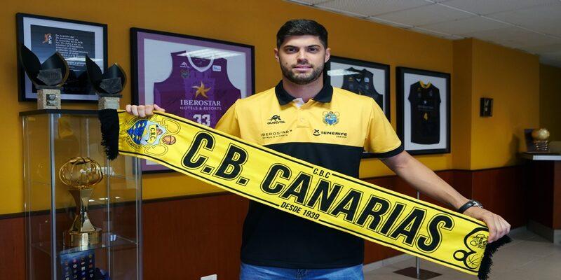NOTICIAS | Santi Yusta, nuevo jugador del Iberostar Tenerife