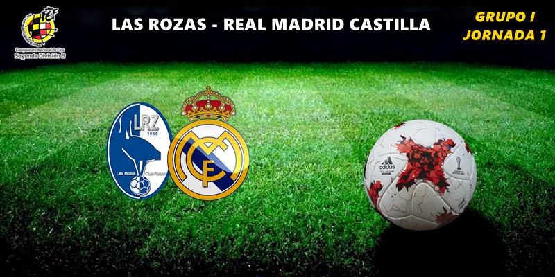 CRÓNICA   Buen debut: Las Rozas 1 – 1 Real Madrid Castilla