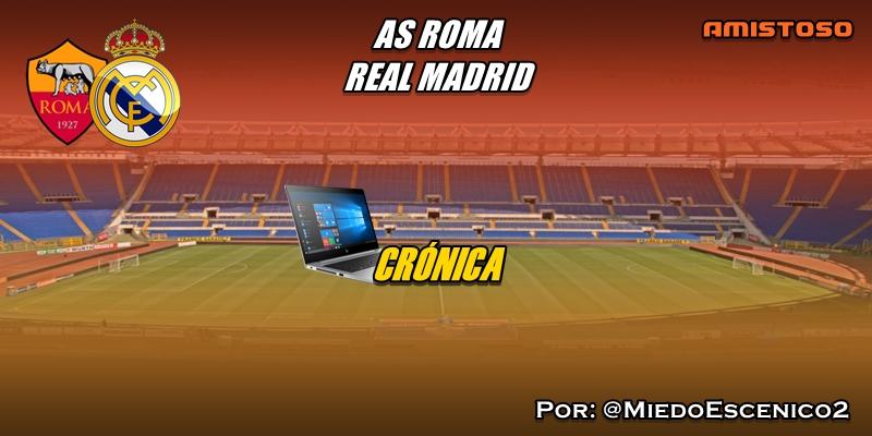 CRÓNICA | Séptimo bolo. Trampantojos defensivos: AS Roma 2 – 2 Real Madrid