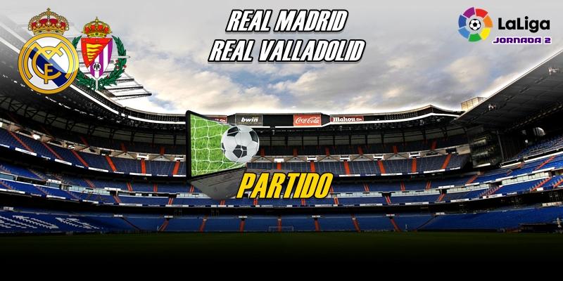 VÍDEO | Partido | Real Madrid vs Real Valladolid | LaLiga | Jornada 2