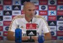VÍDEO | Rueda de prensa de Zinedine Zidane previa al partido ante el Valladolid