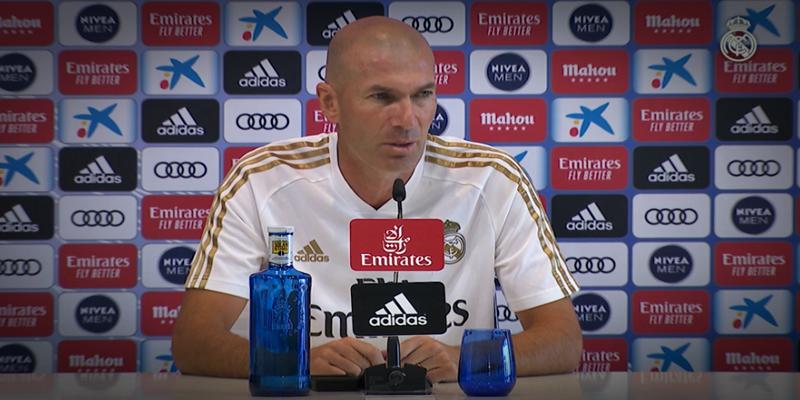 VÍDEO   Rueda de prensa de Zinedine Zidane previa al partido ante el Getafe