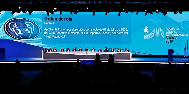 NOTICIAS | La Asamblea General Extraordinaria aprueba la absorción del Club Deportivo Tacon