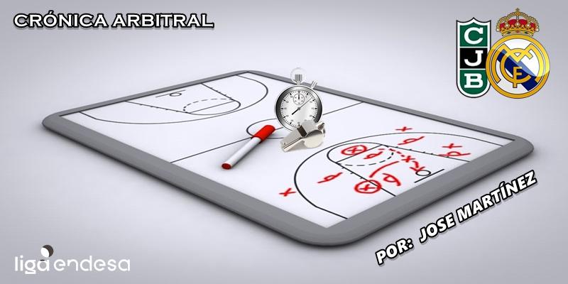 CRÓNICA ARBITRAL | Club Joventut Badalona vs Real Madrid | Liga Endesa | Jornada 1