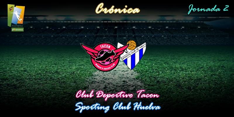 CRÓNICA | Recital de Jakobsson: CD Tacon 3 – 0 Sporting Club Huelva