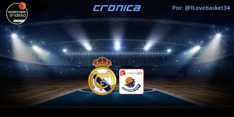 CRÓNICA | Sin complejos: Real Madrid 116 – 61 Montakit Fuenlabrada